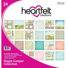 Heartfelt Creations Happy Camper Paper Collection