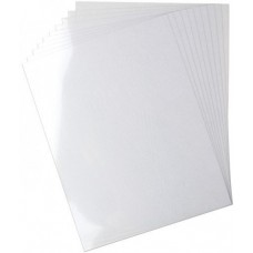 Heartfelt creations Clear Cardstock 8.5 x 11 (10 Sheets)