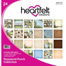 Heartfelt Creations Pampered Pooch Paper Collection HCDP1-272