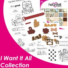 Heartfelt Creations Pampered Pooch I Want it All Collection