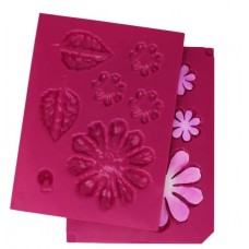 Heartfelt Creations 3D Large Zinnia Shaping Mold