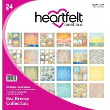 Heartfelt Creations Sea Breeze Paper Collection