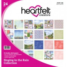 Heartfelt Creations Singing in the Rain Paper Collection HCDP1-286