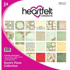 Heartfelt Creations Snowy Pines Paper Collection