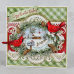 Heartfelt Creations Snowy Pines Collection Snowy Pines Cabin Die