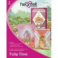 Heartfelt Creations Tulip Time Class Card Kit