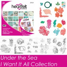 Heartfelt Creations Under The Sea - 4 Dies, 4 Stamps & Paper