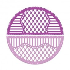 Heartfelt Creations Decorative Window Collection - Rounded Lattice Window Frame Die