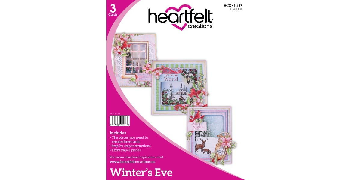 Heartfelt Creations Winter's Eve Card Kit