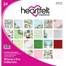 Heartfelt Creations Winter's Eve Paper Collection HCDP1-281