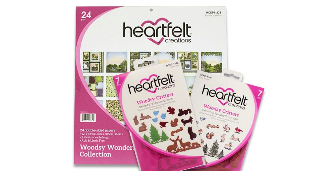 Heartfelt Creations Woodsy Wonderland Creative Essentials