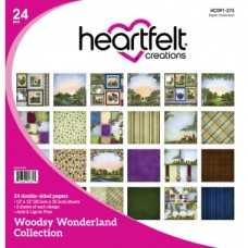 Heartfelt Creations Woodsy Wonderland Paper Collection HCDP1-273