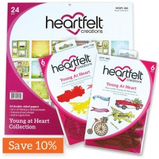 Heartfelt Creations Young At Heart Creative Essentials Paper, Die & Stamp