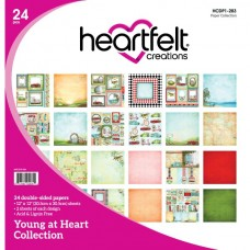 Heartfelt creations Young At Heart Paper Collection