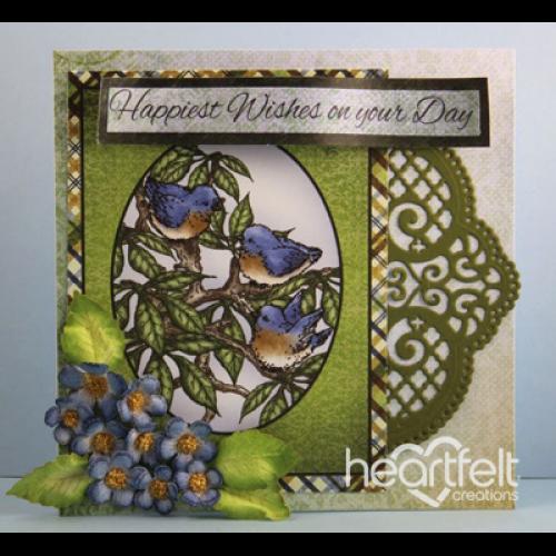 Heartfelt Creations Ornate Borders and Pockets Die HCD1-780