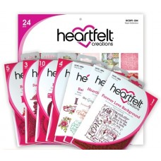 Heartfelt Creations Love Collection - 4 Dies, 3 Stamps & Paper