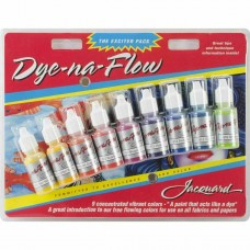 Jacquard Ink Pack - Dye-Na-Flow Bottles 14ml 9/Pkg