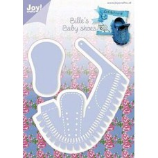 joy! Crafts C & E stencil Baby Shoe Die