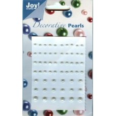 Joy! Crafts Adhesive pearls - Ivory