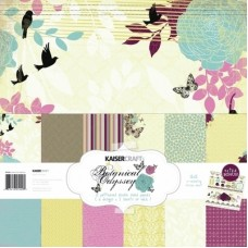Kaisercraft Botanical Odyssey Paper Pack Bonus Sticker Sheet