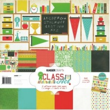 Kaisercraft Class Act Paper Pack Bonus Sticker Sheet