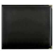 Kaisercraft D-Ring Album Leather - Black