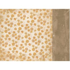Kaisercraft Golden Grove 12 x12 Scrapbookpaper - Fallen Leaves