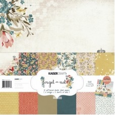 Kaisercraft Forget-me-not Paper Pack Bonus Sticker Sheet