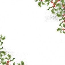 Kaisercraft 12 x 12 Acetate - Holly