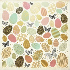 Kaisercraft All That Glitters 12x12 Specialty Paper - Golden Easter
