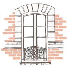 Kaisercraft Ooh La La! 12x12 Die Cut Window