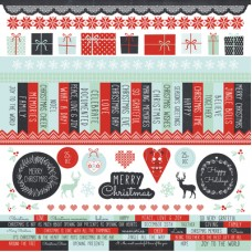 Kaisercraft North Pole 12x12 Sticker Sheet