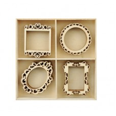 Kaisercraft Flourish Pack Frames 20pcs