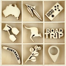 Kaisercraft Flourish Pack Australiana 45pcs