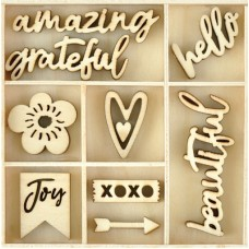 Kaisercraft Flourish Pack Amazing 50pcs