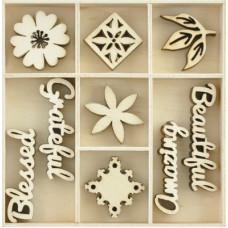 Kaisercraft Flourish Pack Beautiful 45 pcs