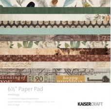 "Kaisercraft Anthology 6.5"" Paper Pad"