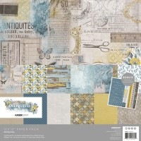 Kaisercraft Antiquities Paper Pack with Bonus Sticker Sheet