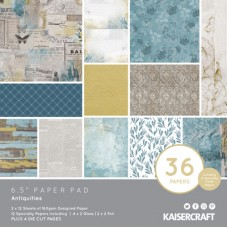 "Kaisercraft Antiquities 6.5"" Paper Pad"