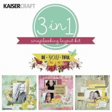 Kaisercraft Be-YOU-tiful - Layout Kit