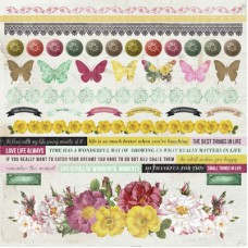 Kaisercraft Be-YOU-tiful 12x12 Sticker Sheet