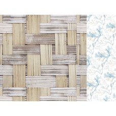 Kaisercraft Beach Shack 12x12 Scrapbook Paper - Thatched