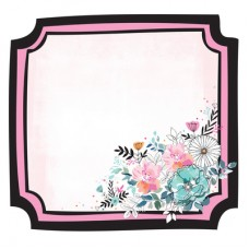 Kaisercraft Blessed 12x12 Die Cut - Floral Frame