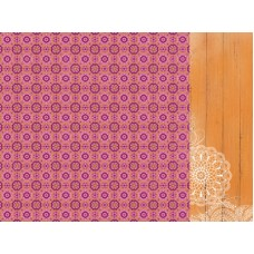 Kaisercraft Bombay Sunset 12 x12 Scrapbookpaper - Bollywood