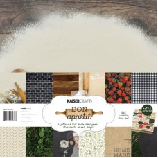Kaisercraft Bon Appetit Paper Pack with Bonus Sticker Sheet