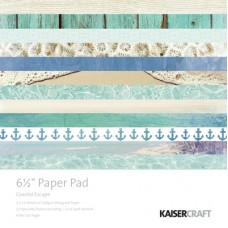 "Kaisercraft Coastal Escape 6.5"" Paper Pad"