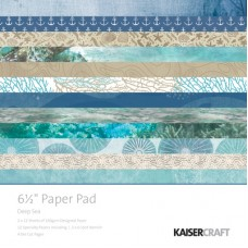 Kaisercraft Deep Sea 6.5 Paper Pad