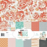 Kaisercraft Dream Big Paper Pack with Bonus Sticker sheet