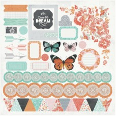 Kaisercraft Dream Big 12x12 Sticker Sheet