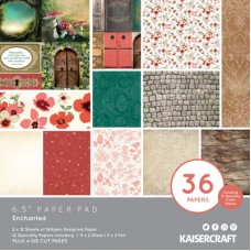 "Kaisercraft Enchanted 6.5"" Paper Pad"